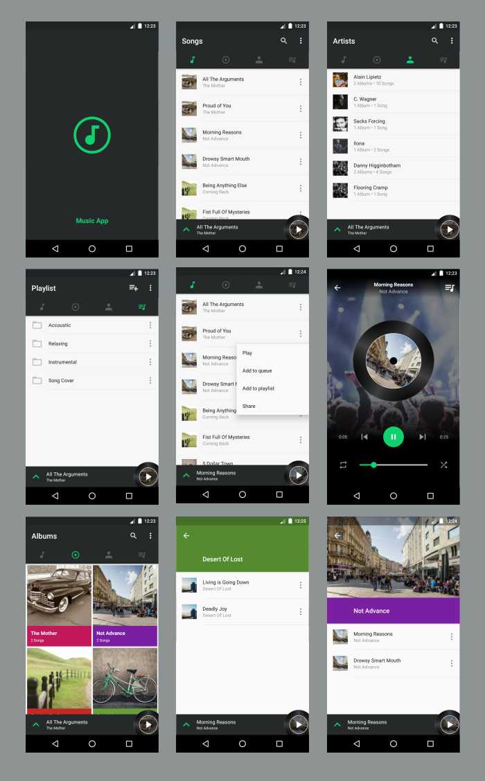 Android Material UI Template 4.0 - 36