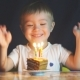 Adorable Two Year Old Boy Celebrating His Birthday and Blowing - VideoHive Item for Sale