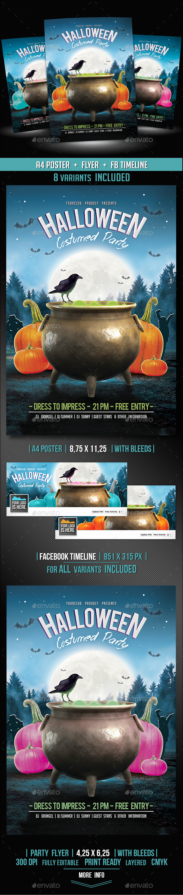 3 in 1 Halloween Event Pack - Holidays Events