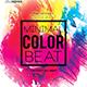 Minimal Color Beats Party Flyer