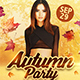 Autumn Party Flyer Template - GraphicRiver Item for Sale