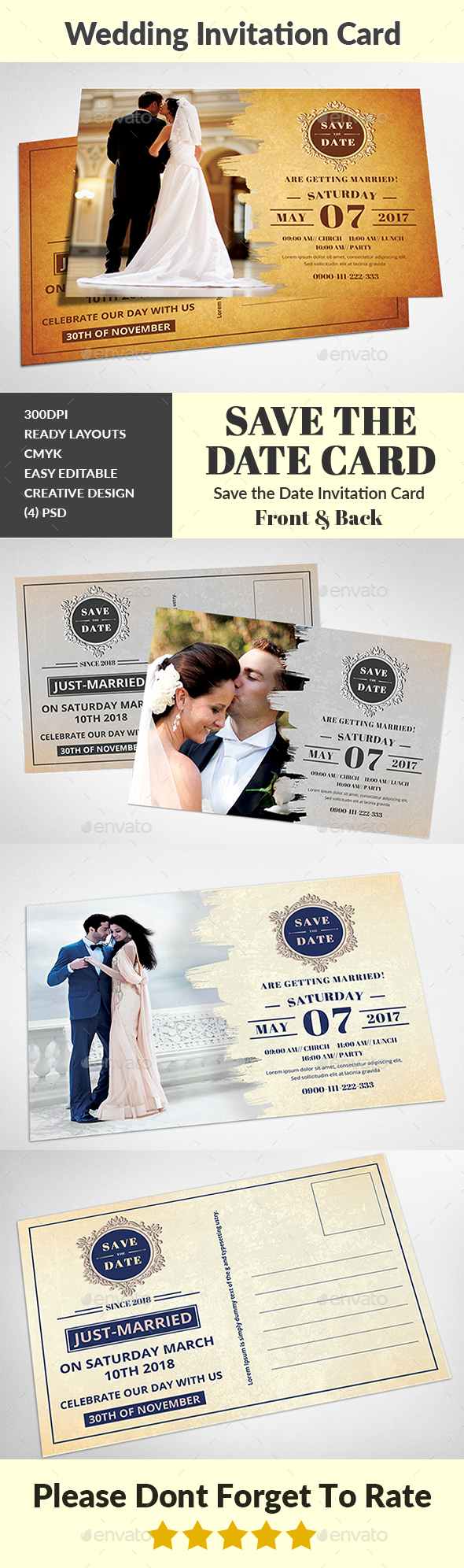 GraphicRiver Wedding Invitation 20698625