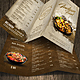 Indian A4 and US Letter Trifold Food Menu