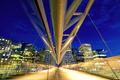 Pedestrian bridge in Oslo
