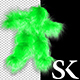 Green Hairy Dancer - VideoHive Item for Sale