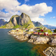 Fishing huts in Lofoten - PhotoDune Item for Sale
