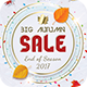 Big Autumn Sale Flyer