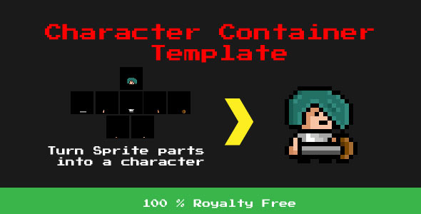 Character Container Template - Desktop Edition - CodeCanyon Item for Sale