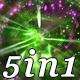 Orbit Rays - VJ Loop Pack (5in1)