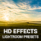 20 HD Effects Lightroom Presets