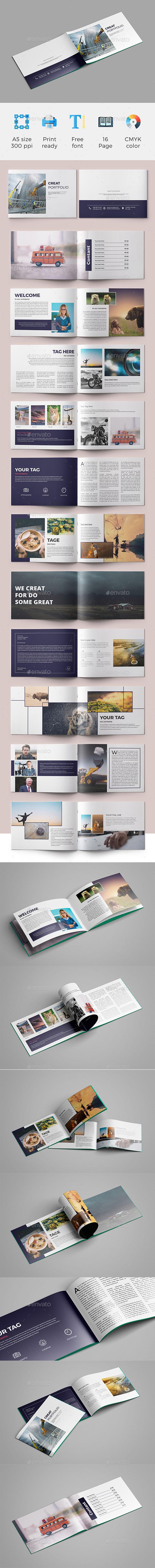 A5 Brochure - Portfolio Brochures