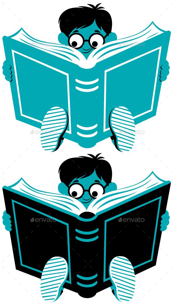 GraphicRiver Reading Boy 20699163