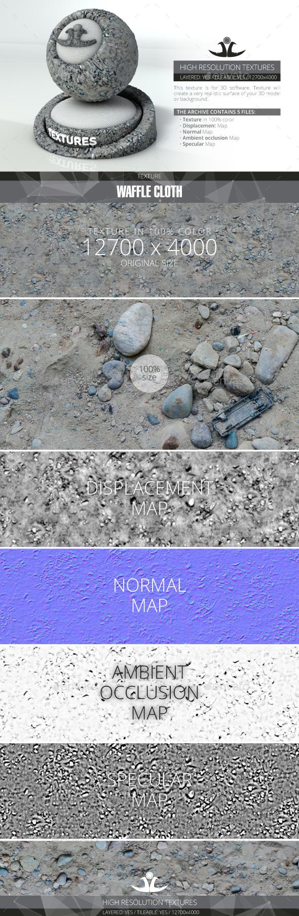 3DOcean Soil With Stones 20699315