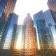3D Cityscape Sun Reflection - PhotoDune Item for Sale