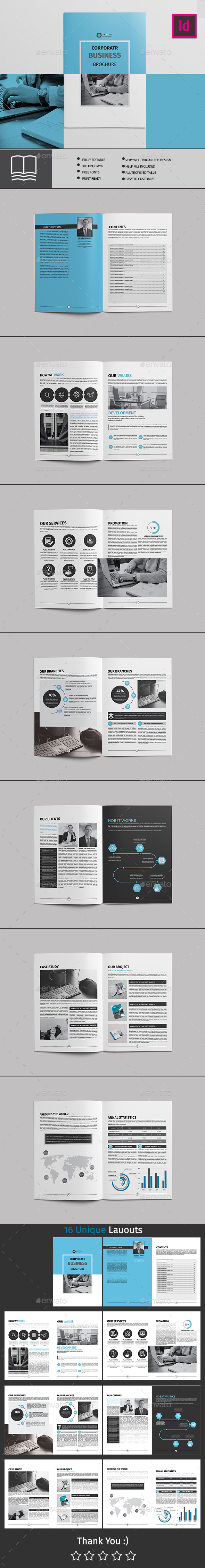 GraphicRiver Corporate Brochure 16 Page 20699547