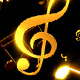 Musical Notes Falling - VideoHive Item for Sale