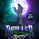 Thriller Party Flyer Template - GraphicRiver Item for Sale