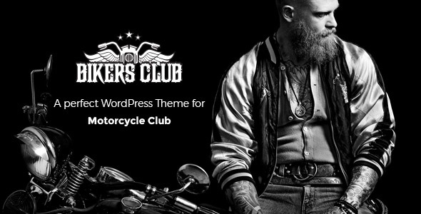 Image of Bikersclub - Motorcycle Responsive WordPress Theme