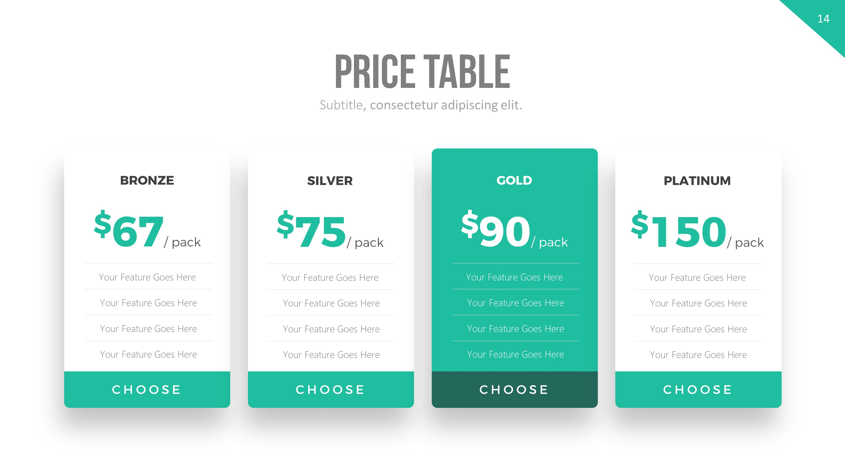 Price table powerpoint template by rrgraph graphicriver price table powerpoint template business powerpoint templates slide 1g slide 10g slide 11 toneelgroepblik Image collections