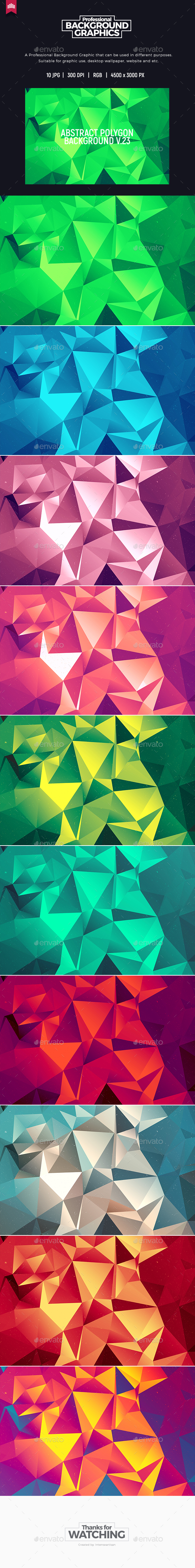 Abstract Polygon V.23 - Background - Abstract Backgrounds