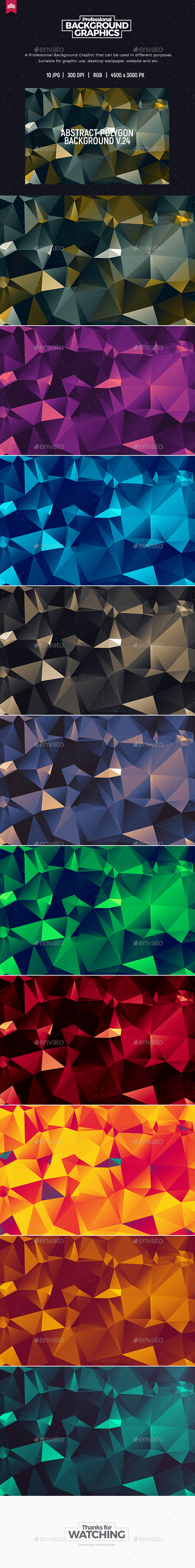 Abstract Polygon V.24 - Background - Abstract Backgrounds