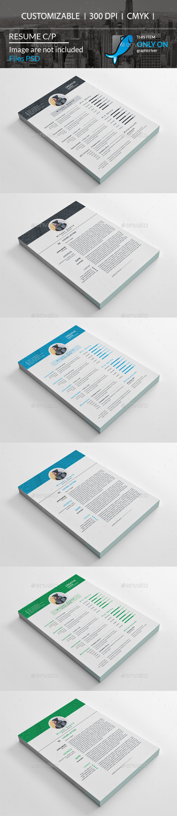 GraphicRiver Resume Cv 20700172