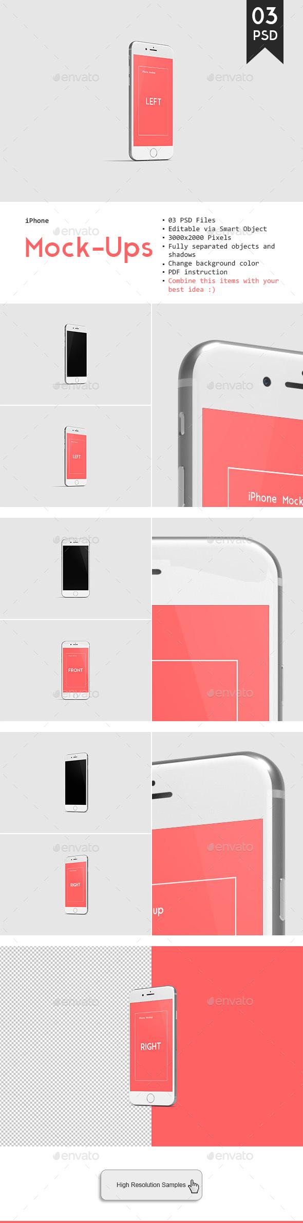 Phone 7 Mockup - Mobile Displays