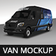 Van Mockup Branding - GraphicRiver Item for Sale