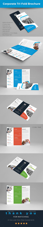 GraphicRiver Corporate Trifold Brochure 20700308