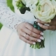 Loving Couple Holding a Wedding Bouquet in Hands - VideoHive Item for Sale