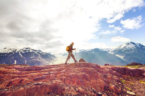 Hike in Canada - Stock Photo - Images
