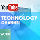 5 Tech Channel - Youtube Banner Template