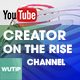 5 Creator on the Rise Chanel-Youtube Banners Template