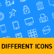 56 different icon pack - GraphicRiver Item for Sale