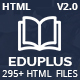 EduPlus - Education & Courses HTML5 Template