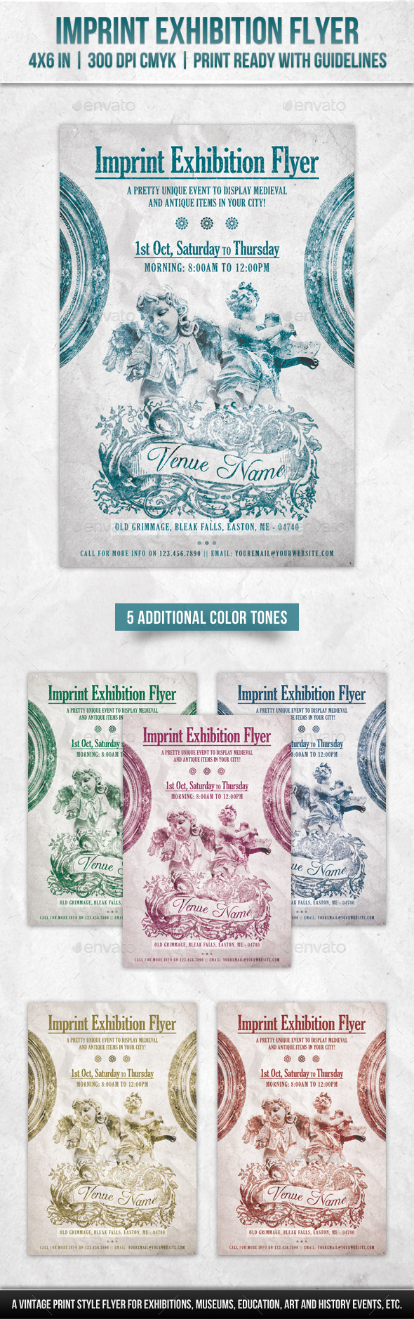 GraphicRiver Imprint Exhibition Flyer 20700750