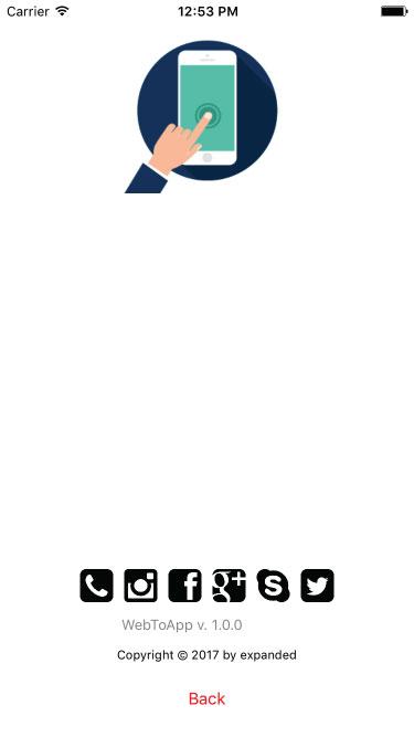 WebToApp   Universal iOS Web View App   iOS 11 and Swift 4
