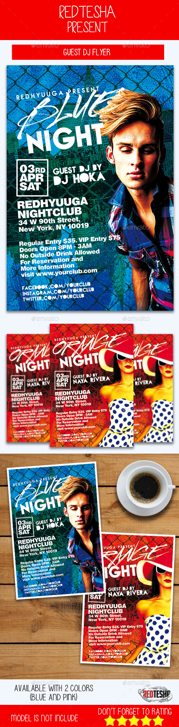 Guest DJ Flyer - Flyers Print Templates