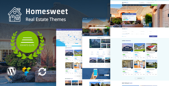 Image of HomeSweet - Real Estate WordPress Theme