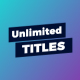Universal Frame / Unlimited Titles - VideoHive Item for Sale