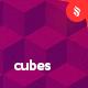 Gradient Cubes Backgrounds - GraphicRiver Item for Sale