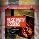 Music Event Flyer / Poster Vol 18 - GraphicRiver Item for Sale