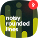 Noisy Rounded Lines Backgrounds