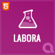 Labora - Business, Laboratory & Pharmaceutical HTML Template