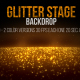 Glitter Stage Backdrop Bakground - VideoHive Item for Sale