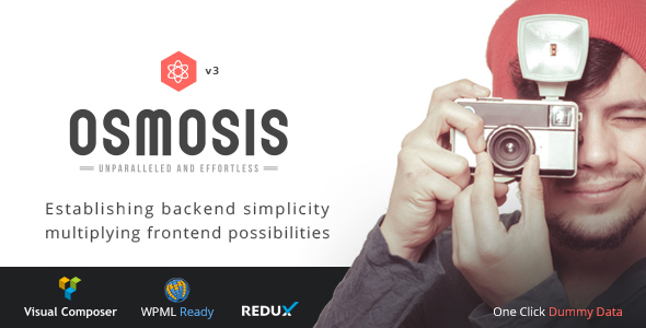 Osmosis - Responsive Multi-Purpose Theme - Corporate WordPress