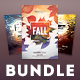Fall Flyer Bundle Vol.02 - GraphicRiver Item for Sale