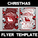Christmas Eve Flyer Template V4 - GraphicRiver Item for Sale