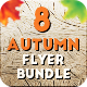 8 Autumn-Fall Flyer Bundle - GraphicRiver Item for Sale