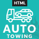 AutoTowing Emergency Auto Towing and Roadside Assistance Service HTML Template - ThemeForest Item for Sale